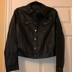 Nordstrom Free Press Faux Leather Jacket